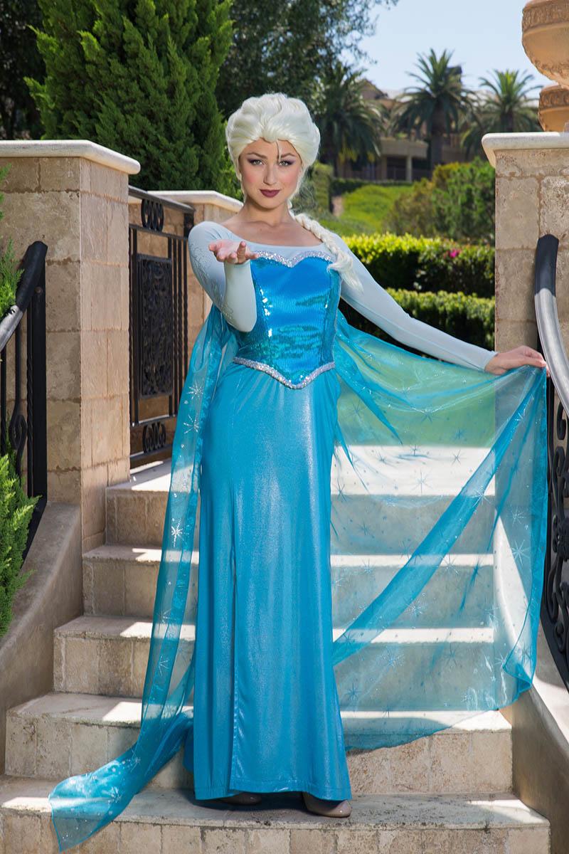 Frozen elsa party character for kids in philadelphia