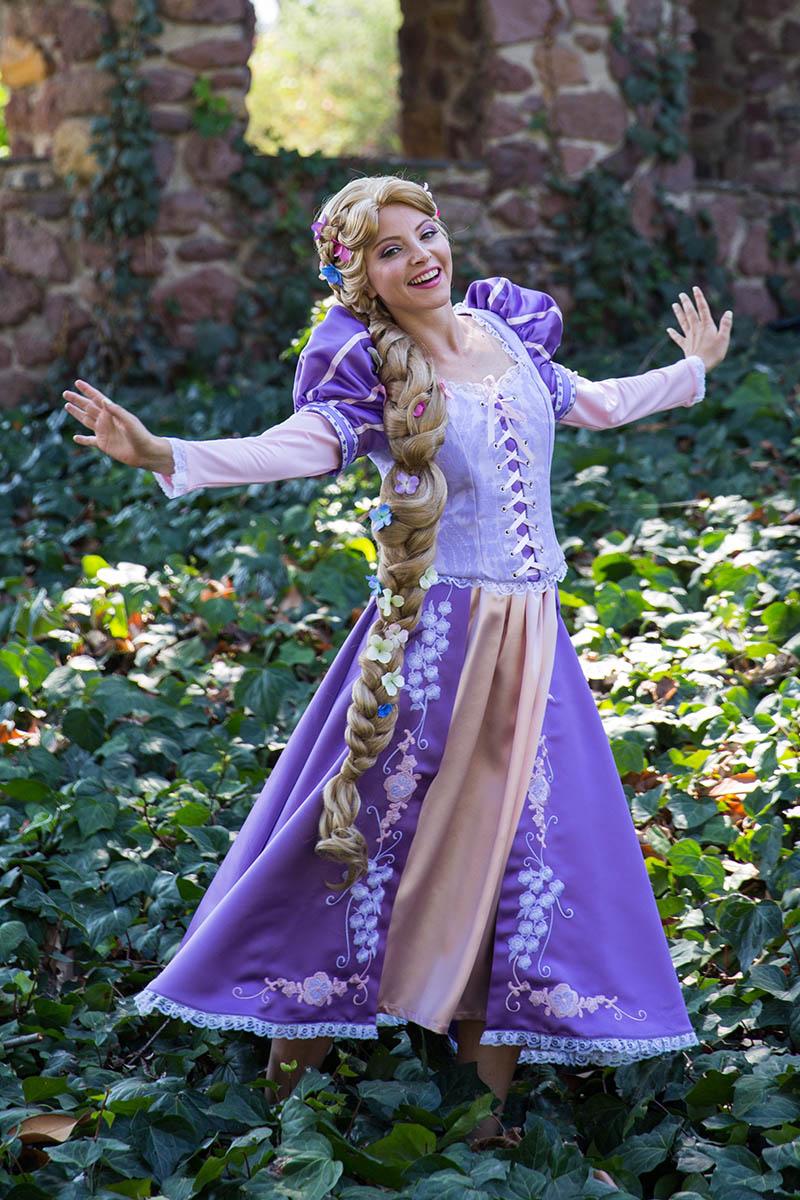 Rapunzel party character for kids in philadelphia